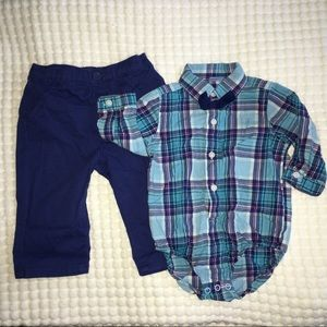 Children's Place; 6-9 month outfit